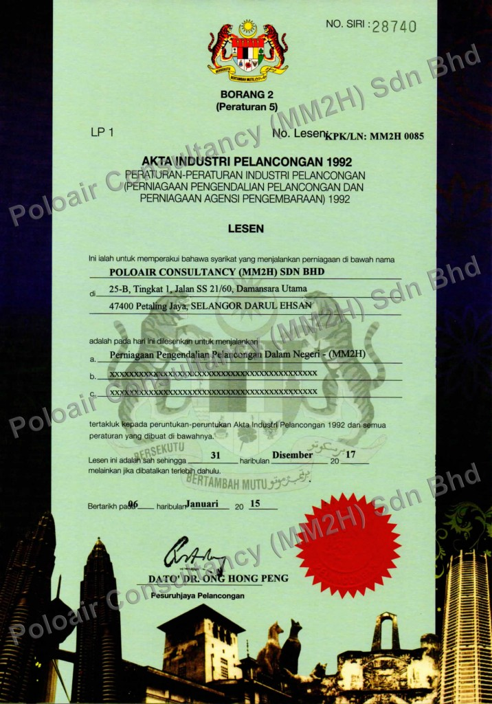 MM2H agent with 3 years license validity
