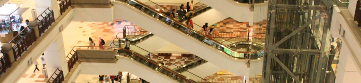 Shoppers Paradise with Modern shopping Malls